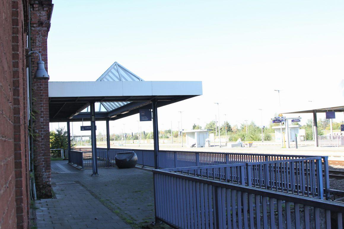 Der Bahnhof in Oebisfelde