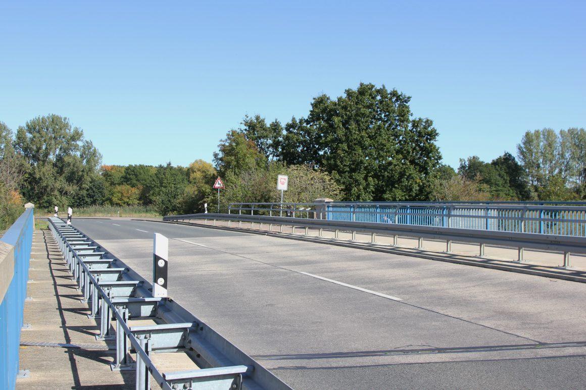 Die neue Büstedter Brücke zwischen Oebisfelde und Velpke