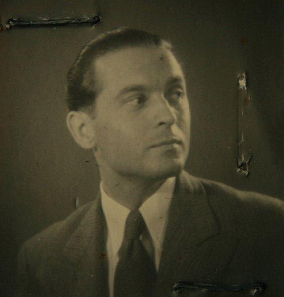 Auf dem Foto von 1950 ist Rainer Brauns Vater, Erich Brauns, zu sehen.